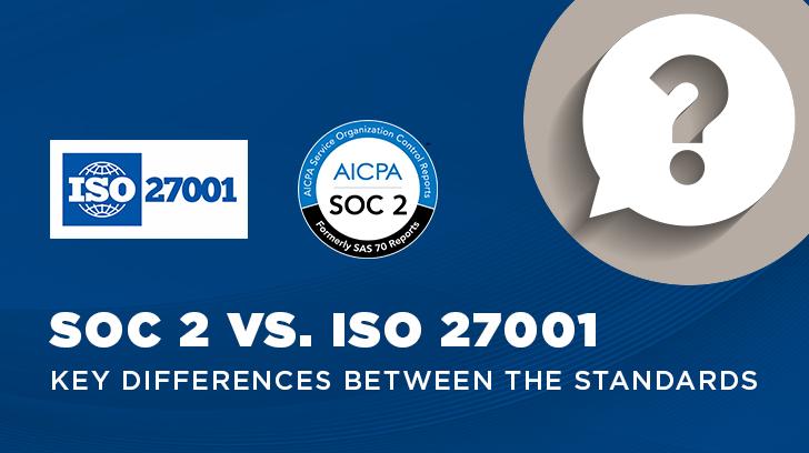 SOC2vsISO27001