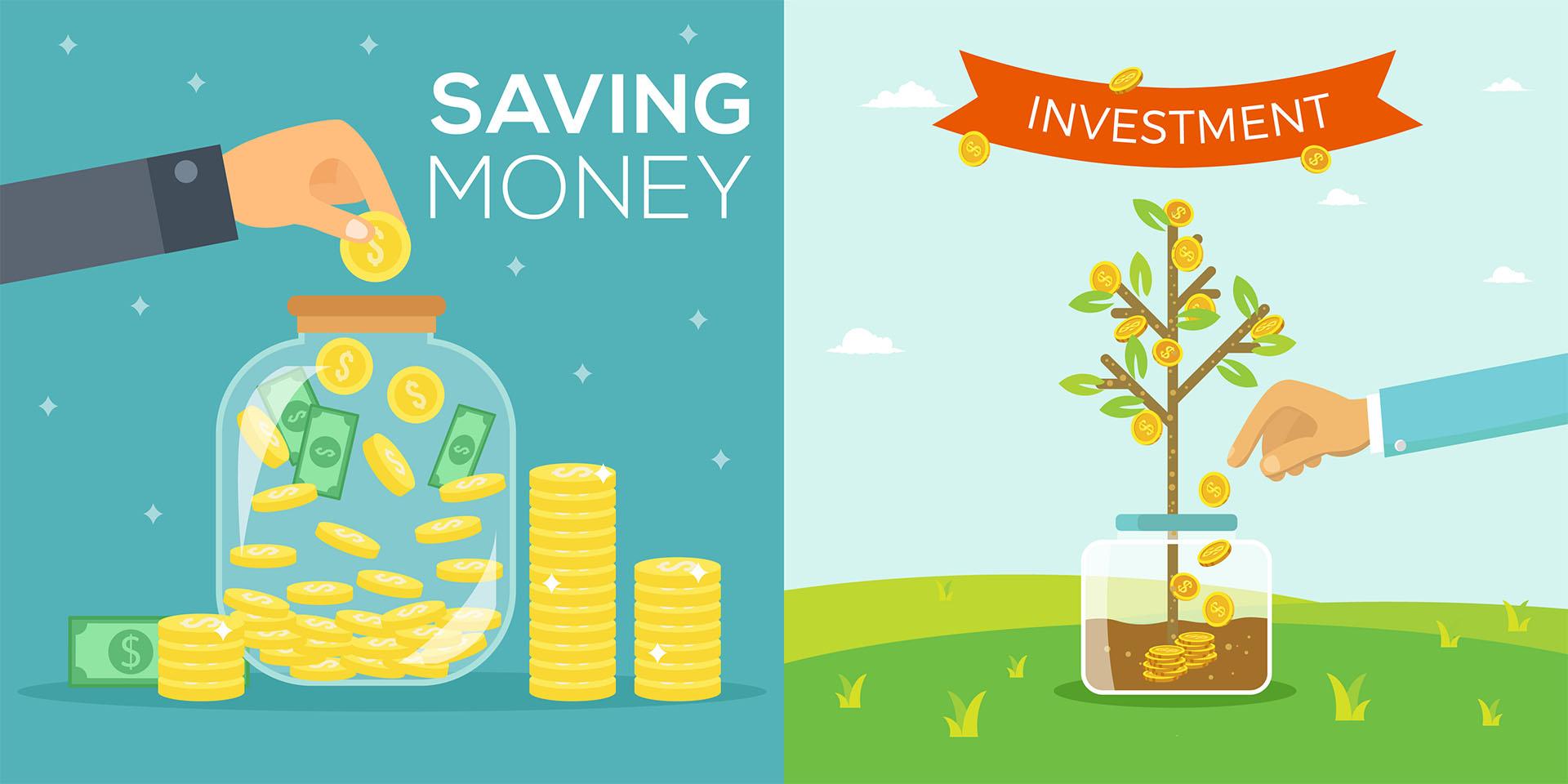 Saving Vs Investing Money